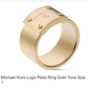 🆕Listing! Authentic Michael Kors Logo Ring